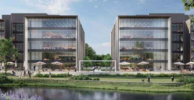 Singapore's Mapletree pushes spec button on 234,000 sq ft of offices at Reading's Green Park